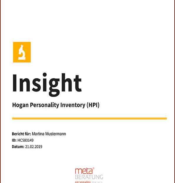 Hogan Assessment HPI